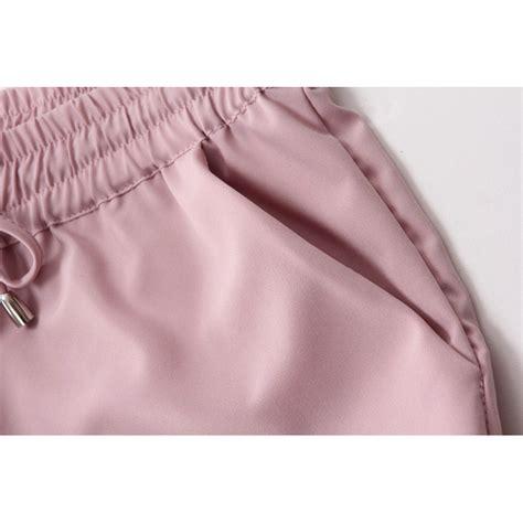 Celana Size S celana chiffon harem wanita polyester size s black