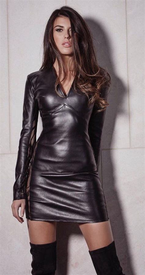 women in tight leather skirts and boots 239 best images about misc shiny clothes on pinterest