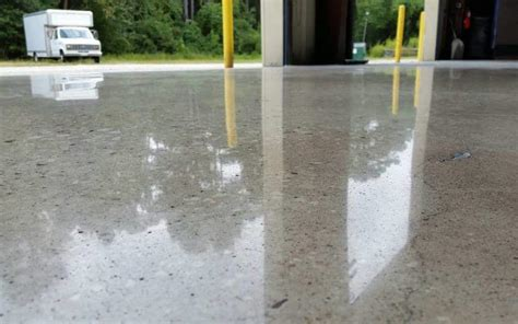 polished concrete flooring pros and cons advance
