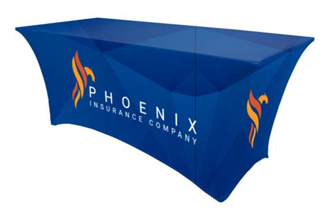 company logo table cover company tablecloth with logo trendy ft spandex exhibition