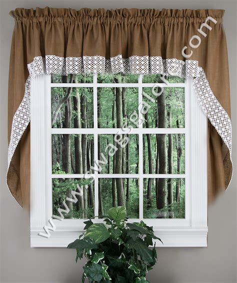 swag jabot curtains salem swags black lorraine swag jabot curtains