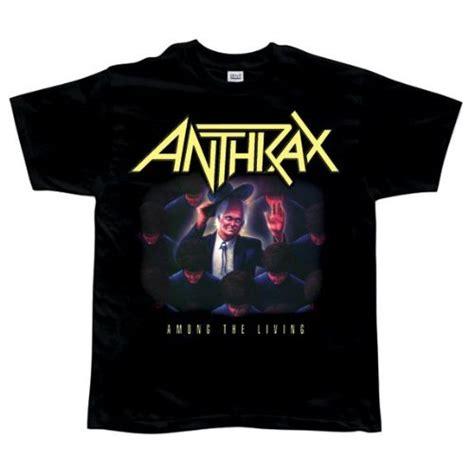 anthrax shirt anthrax among the living t shirt large