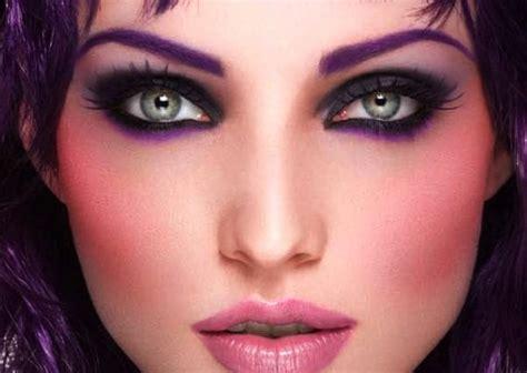 Make Up Di Mahmud cambiare il colore degli occhi lenti colorate