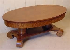 Oval Oak Coffee Table Oval Oak Coffee Table