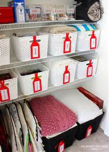 ideas for organizing the linen closet the homes i made