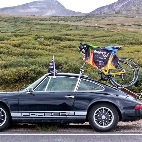 porsche bicycle car photo by castellicycling alternate ways to escape