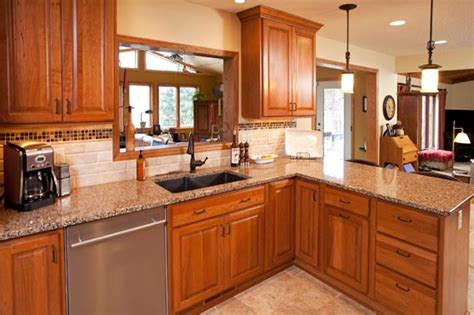 Cambria Kitchen Cabinets by Bloomington Kitchen And Master Bath Remodel With New