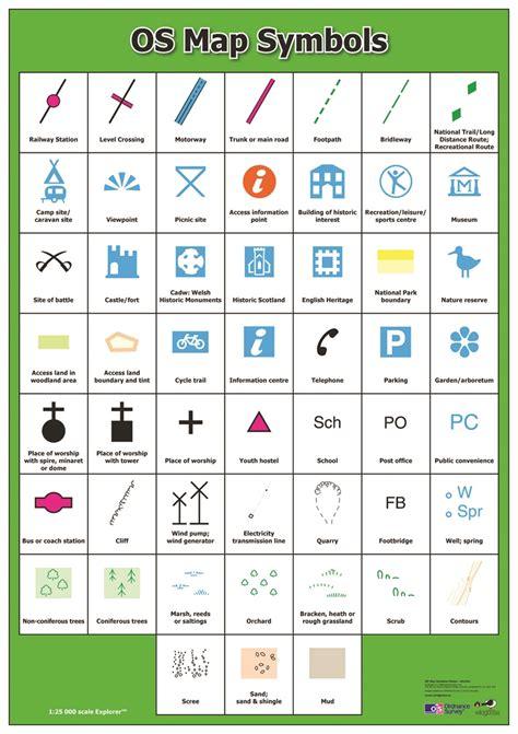 map symbols searchitfast web symbols on map