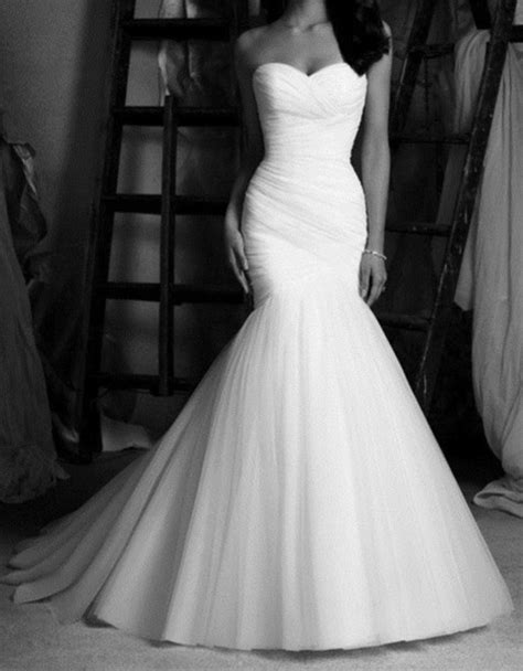 Dress: wedding dress, prom dress, mermaid wedding dresses, mermaid prom dress, white dress, long