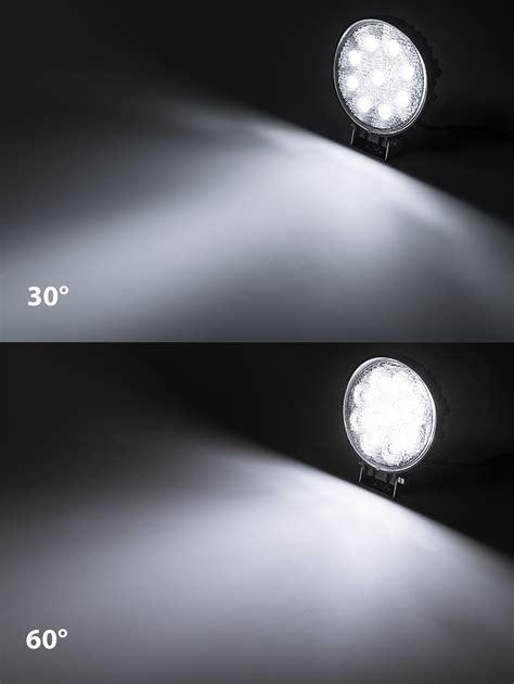 Led Work Light 5 5 Quot Round 27w 2 025 Lumens Led