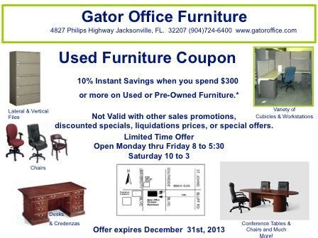 office furniture coupon gator office furniture jacksonville fl 32207 904 724 6400