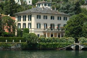 george clooney home lake como mingle with the caesars and the stars