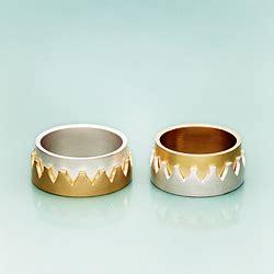 Partnerringe Silber Gold by Arbeiten Suse Linke