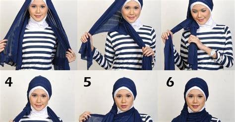 Mode Segi Empat cara membuat hiasan pada kerudung dunia mode