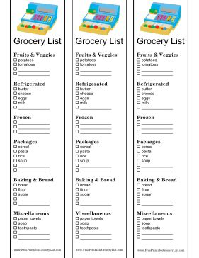 printable grocery list for toddlers printable kids fun shopping list