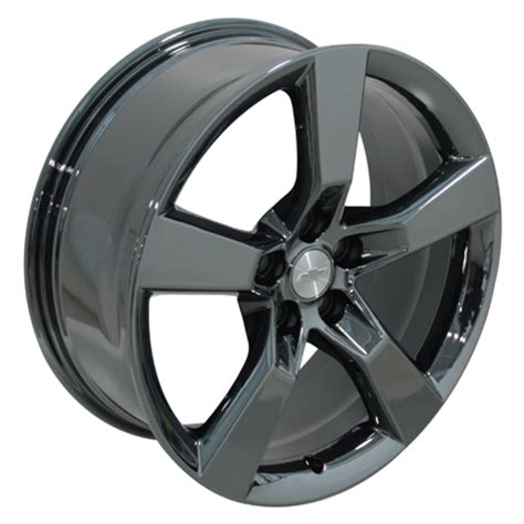 camaro black chrome wheels 20 quot oem camaro ss wheels pvd black chrome set of 4 rims ebay