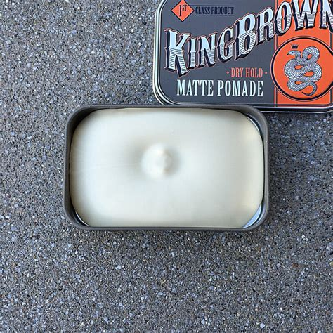 Pomade Smith Clayton Premium Hair Clay Free Sisir king brown matte pomade hedgelion