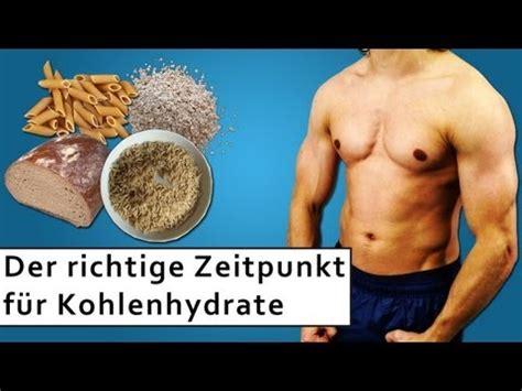 wann kohlenhydrate essen related