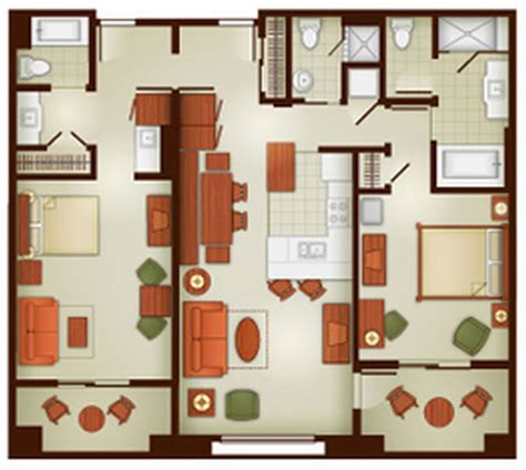 disneyland hotel 2 bedroom suite layout disneyland hotel 2 bedroom suite layout grand californian