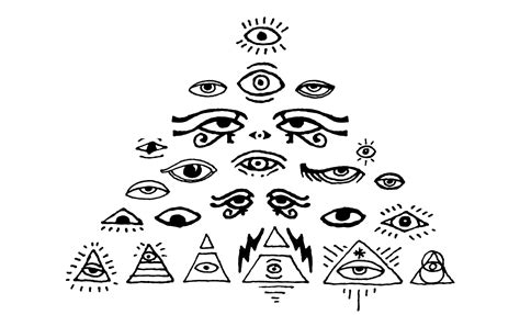500 occult symbols and esoteric designs vector collection