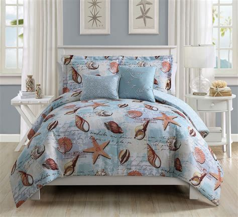 5 piece la jolla seafoam comforter set