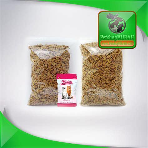 Makanan Kucing Murah Sabina Catfood jual cat food makanan kucing felibite 500 gram tuna seafood murah petshop murah