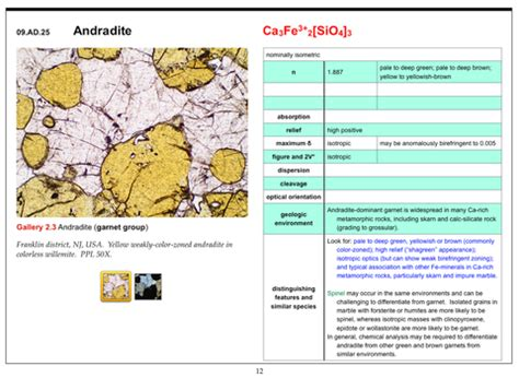 mineral thin section identification isotropic minerals in thin section by frank k mazdab on