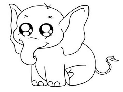cute animal coloring pages for girls coloring home