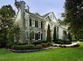 Houzz Home Design Photos Oakton Curb Appeal Traditional Exterior Other Metro