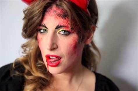 clio makeup tutorial eyeliner nero halloween clio make up diavoletta