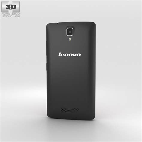 lenovo a2010 black 3d model humster3d