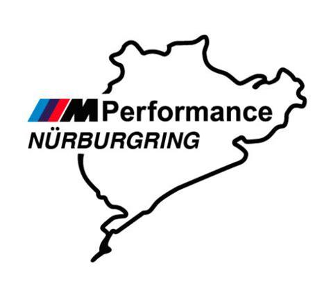Sticker Bmw Nurburgring Iiim Medium Size product 2 pcs nurburgring m performance decals sticker vinyl bmw m3 m5 m