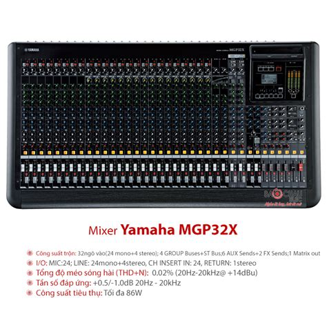 Jual Mixer Yamaha Mgp32x mixer yamaha mgp32x mixer 32 k 234 nh hi盻 苟蘯 i gi 225 t盻奏 nh蘯 t