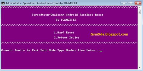 spd qualcomm spreadtrum and qualcomm android fastboot reset tool free