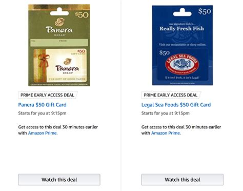 Legal Seafood Gift Card Discount - amazon 50 giftcards for 40 panera legal sea foods express dollar shave la rosa