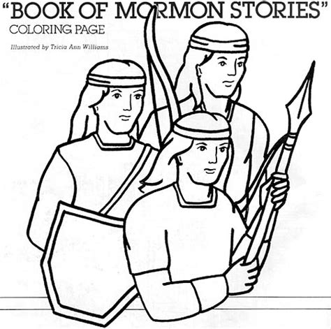 Coloring Pages Book Of Mormon | book of mormon stories coloring page friend