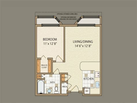 small 1 bedroom house plans small 2 bedroom house plans small 1 bedroom cabin floor