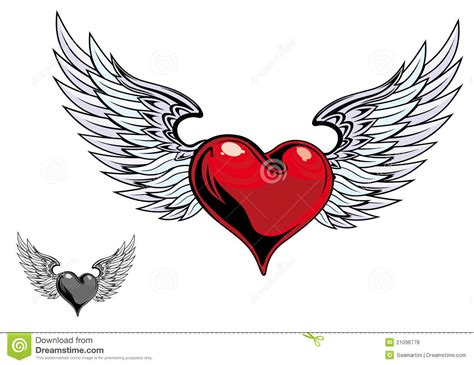 retro color heart tattoo stock vector image of artificial