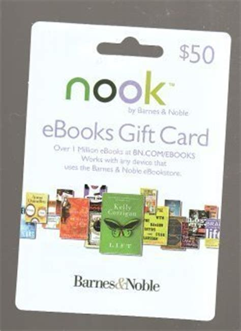 Nook Gift Card - nook ebooks gift card new 50 00 everything else