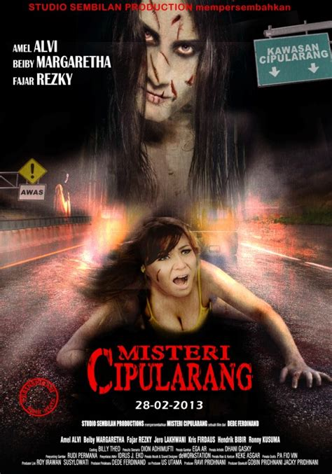 film india horor poster misteri cipularang asal tempel poster film india