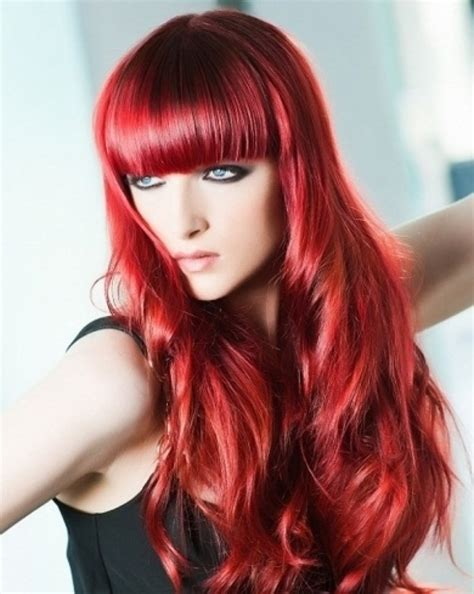 hairstyles with the color red are red hairstyles for you