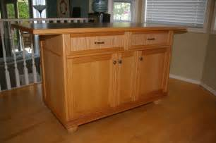 oak kitchen island by jim lumberjocks com