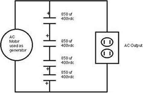 induction generator schematic induction generator