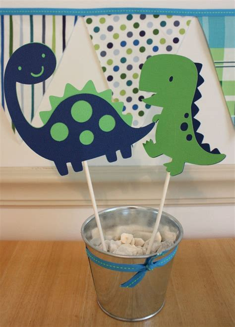 dinosaur party centerpiece  pinkless  etsy party dinosaur theme dinosaur birthday party