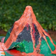 How To Make A Origami Volcano - 1000 ideas about volcano projects on volcano