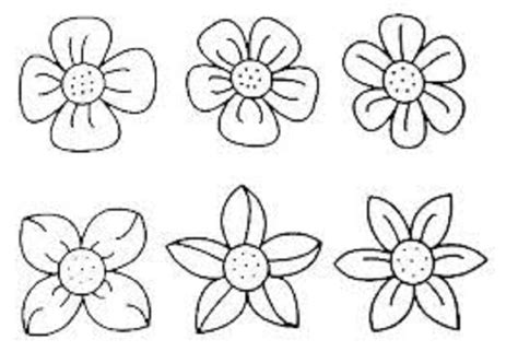 coloring pages small flowers small flower coloring pages vitlt com