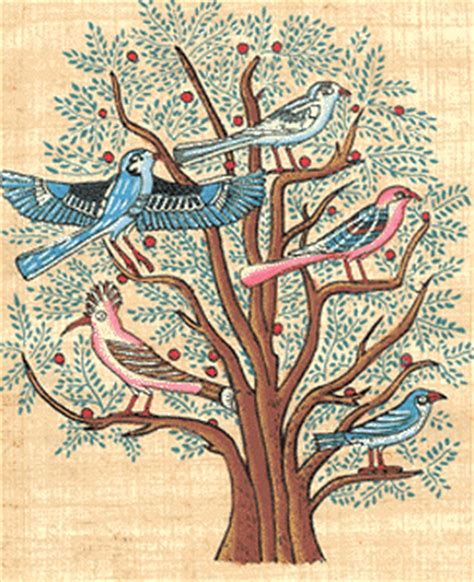 Egyptian Wall Mural a different drummer god s reign is for the birds matthew