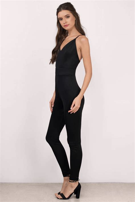 Jump Suit black jumpsuit sleeveless jumpsuit 58 00