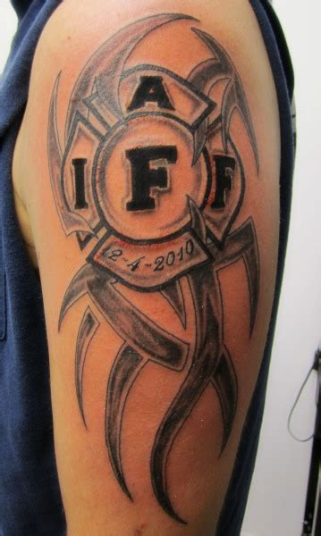 can firefighters have tattoos 21 cool firefighter tattoos desiznworld