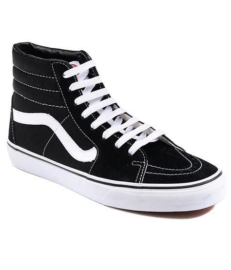 vans black casual shoes price in india buy vans black